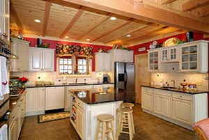 Country kitchen Granite kitchen - Columbus Ohio GS Marble Ohio