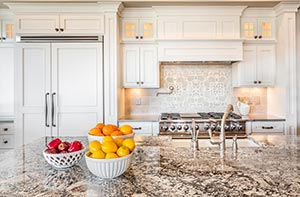 Cream Granite kitchen - Columbus Ohio GS Marble Ohio