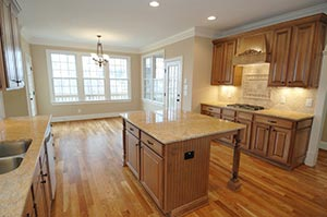 transitional Granite kitchen GS Marble Ohio